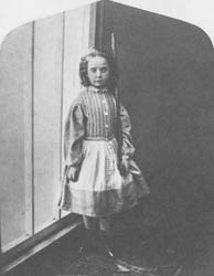 114. LEWIS CARROLL. ELLA MONIER-WILLIAMS, 1866.