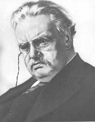 199. HOWARD COSTER. G. K. CHESTERTON, 1928.